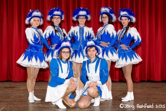 "Große Tanzgruppe ""Crazy Girls"""